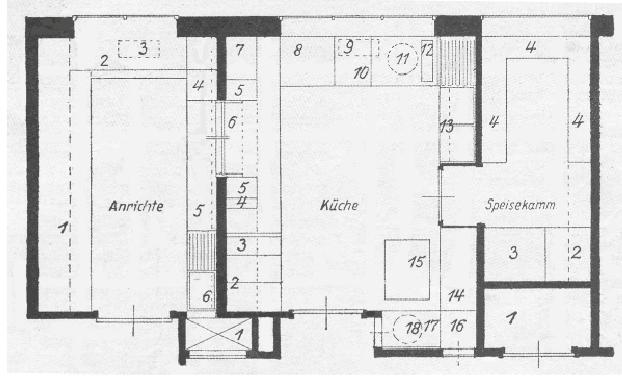 frankfurter k che. Black Bedroom Furniture Sets. Home Design Ideas
